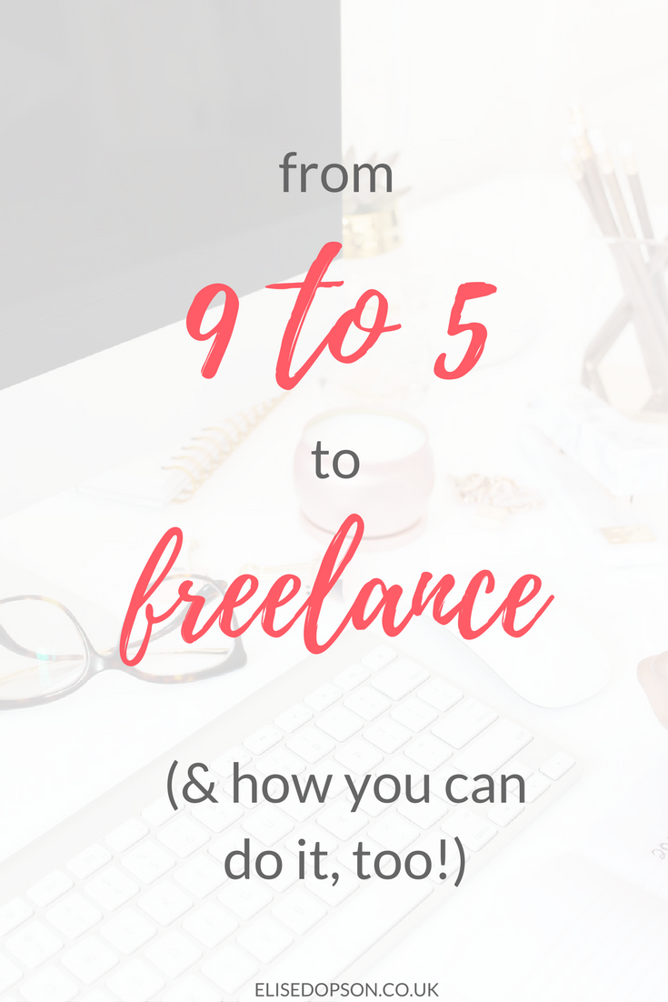 Full-Time to Freelance: How to Make the Transition