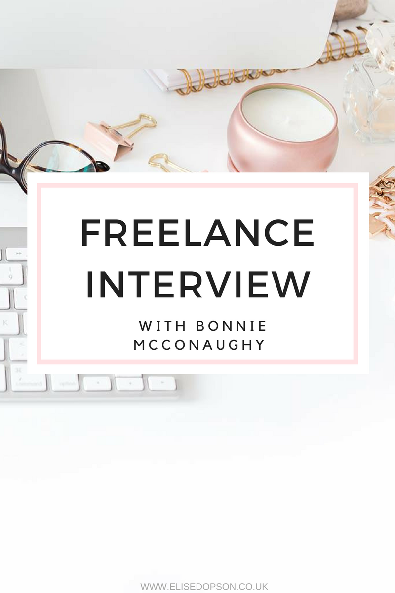 Freelance writer interview with Bonnie McConaughy