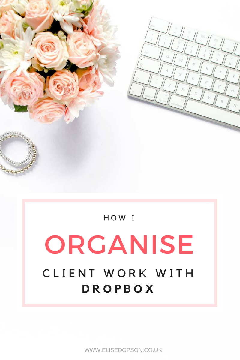 How to Organise Client Work in Dropbox