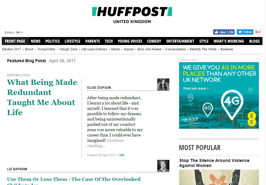 huff post editor's pick