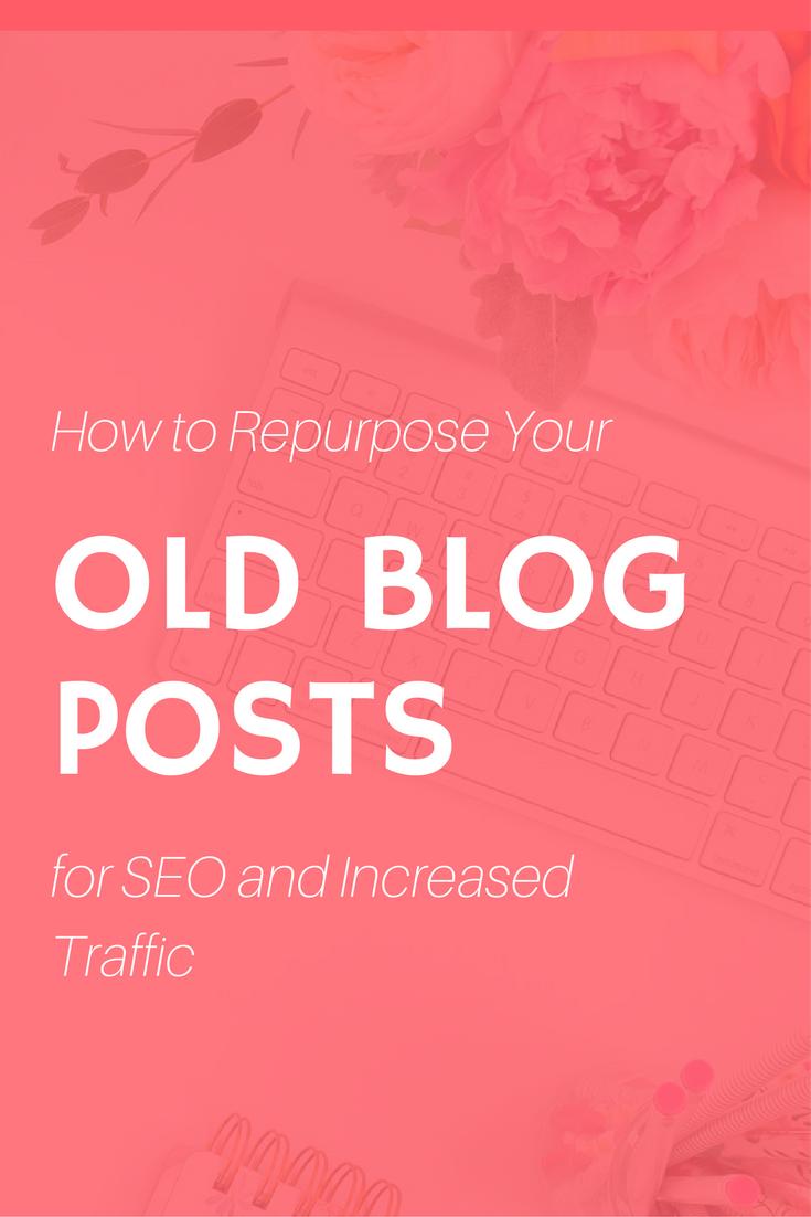 repurpose old blog posts