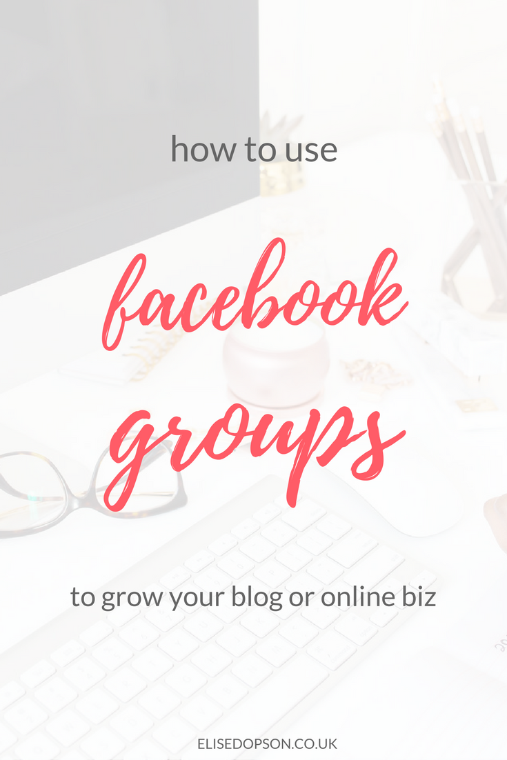 How to Use Facebook Groups to Grow Your Blog or Online BizHow to Use Facebook Groups to Grow Your Blog or Online Biz