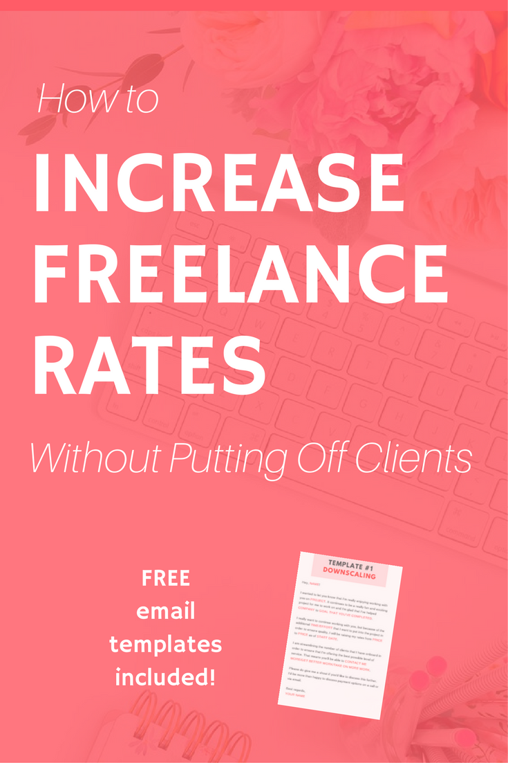 increase freelance rates